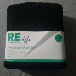 Twin Jersey Sheet Set